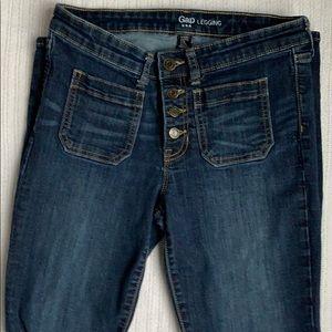 Jeans/ Square Front  Pockets.